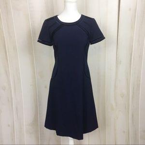 Alex Marie short sleeve navy dress